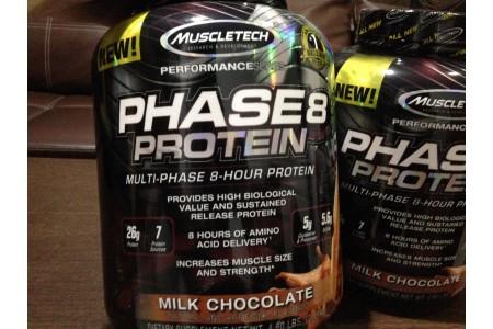 Обзор протеина Phase8 от MuscleTech