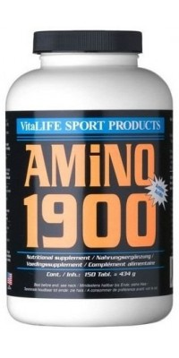 Amino 1900 300 таблеток VitaLIFE