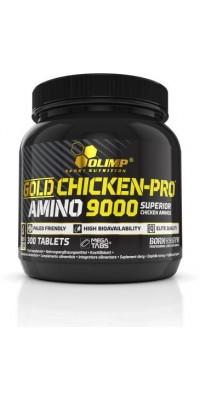 Gold Chicken Pro Amino 9000 Mega Tabs 300 таблеток Olimp