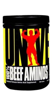 100% Beef Aminos 200 таблеток Universal Nutrition