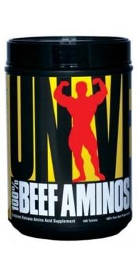 100% Beef Aminos 400 таблеток Universal Nutrition