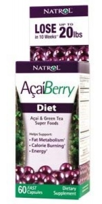 AcaiBerry Diet 60 капсул по 500 мг Natrol