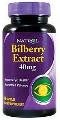 Bilberry Extract 40 мг 60 капсул Natrol