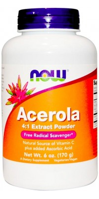 Acerola Powder 170 г Now