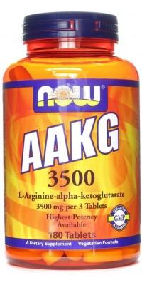 AAKG 3500 180 таблеток Now