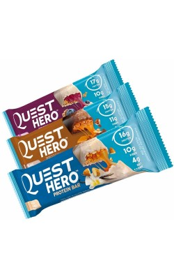 Quest Hero Protein Bar 60 г Quest Nutrition - купить за 200
