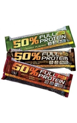 50% Full Protein Bar 50 г QNT - купить за 150