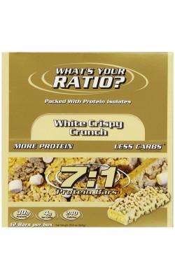 7:1 Protein Bar White Crispy Crunch - купить за 160
