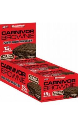 Carnivor Brownie 52 г MuscleMeds - купить за 140