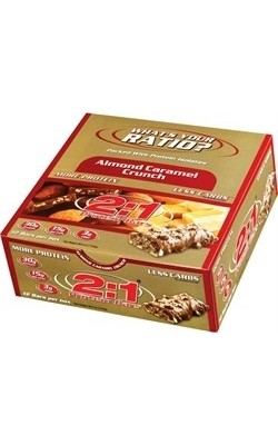 2:1 Protein Bar Almond Caramel Crunch - купить за 160
