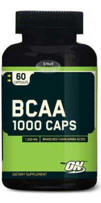 BCAA 1000 60 капсул Optimum Nutrition