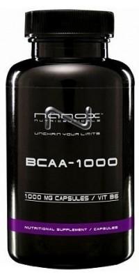 BCAA 1000 120 капсул Nanox