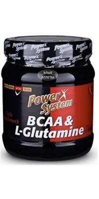 BCAA + L-Glutamine 450 г Power System