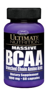 BCAA 1000 60 капсул Ultimate Nutrition