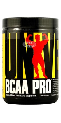 BCAA Pro 100 капсул Universal Nutrition