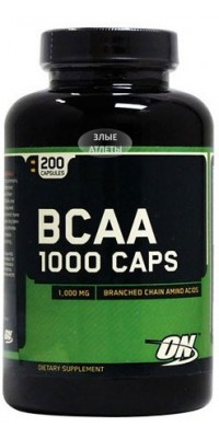 BCAA 1000 200 капсул Optimum Nutrition