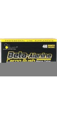 Бета-аланин Beta-Alanine Carno Rush Mega Tabs 80 таблеток Olimp