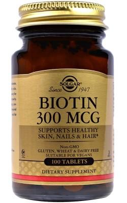 Biotin 300 мкг - купить за 560