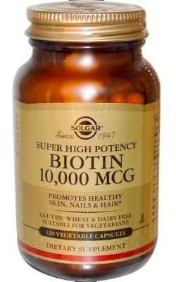 Biotin 10000 мкг - купить за 2200