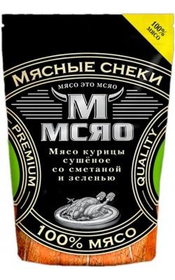 Мсяо Курица сушёная со сметаной и зеленью - купить за 240