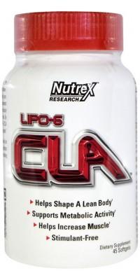Lipo 6 Cla 45 гелевых капсул Nutrex