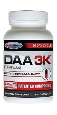 DAA 3K 750 мг 120 капсул USPlabs