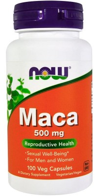 Maca 500 мг 100 капсул Now