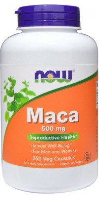 Maca 500 мг 250 капсул Now