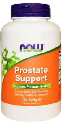 Prostate Support 180 гелевых капсул Now