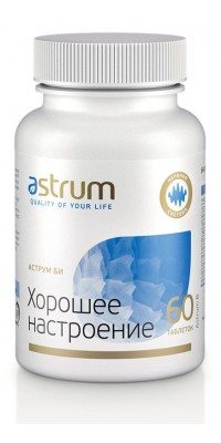 Би: хорошее настроение 60 таблеток Astrum