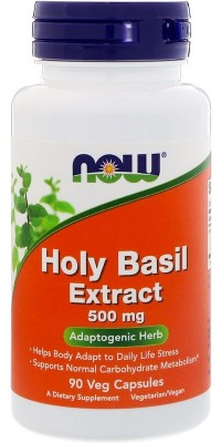 Holy Basil Extract 500 мг 90 капсул Now
