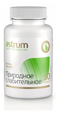 Каскара: природное слабительное 60 капсул Astrum