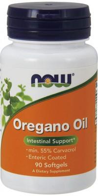 Oregano Oil 90 гелевых капсул Now
