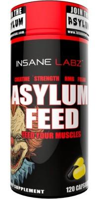 Asylum Feed 120 капсул Insane Labz