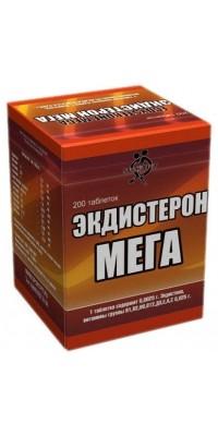 Экдистерон МЕГА 200 таблеток SportPit