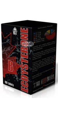 Ecdysterone B 100 таблеток NST