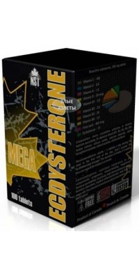 Ecdysterone Mega 100 таблеток NST
