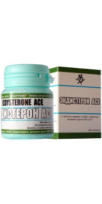 Экдистерон ACE 200 таблеток SportPit