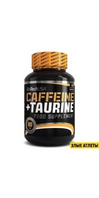 Caffeine + Taurine 60 капс BioTech USA