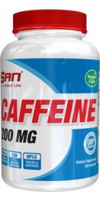 Caffeine Anhydrous 200 мг 120 капсул SAN