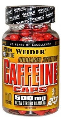 Caffeine Caps 110 капсул Weider