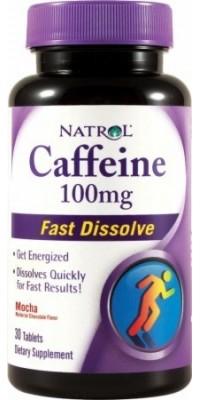 Caffeine 100 мг 30 таблеток Natrol