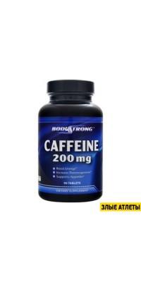 Caffeine 200 mg 90 таб BodyStrong