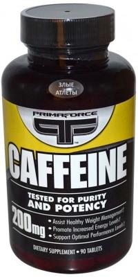 Caffeine 200 мг 90 таблеток Prima Force