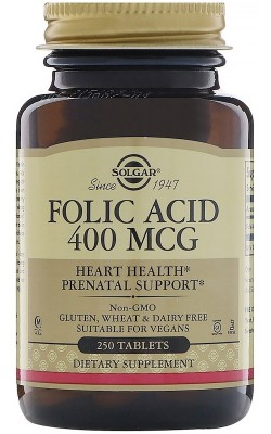 Folic Acid 400 мкг - купить за 930