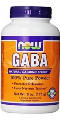 GABA 100% Pure 170 г Now
