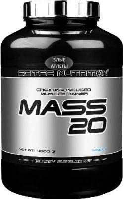 Mass-20 4 кг Scitec Nutrition - купить за 2810