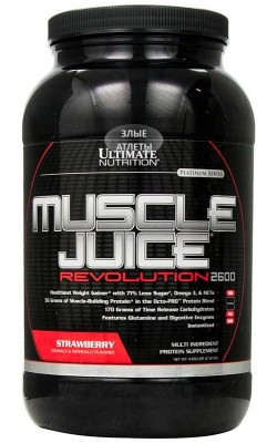 Muscle Juice Revolution 2,12 кг Ultimate Nutrition - купить за 1560