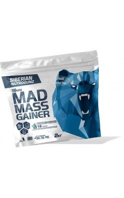 Mad Mass Gainer 2 кг Siberian Nutrogunz - купить за 1200