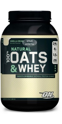100% Natural Oats & Whey 1,35 кг Optimum Nutrition